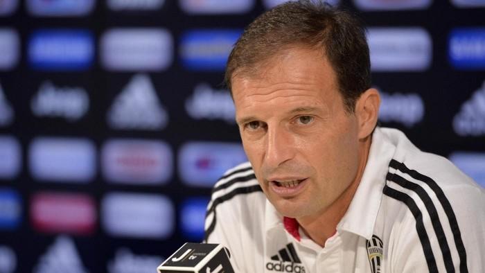 """Juve, Allegri va all'attacco: """"Zaza mi ha soddisfatto. domani gioca Mandzukic. Sulla lotta scudetto..."""""""