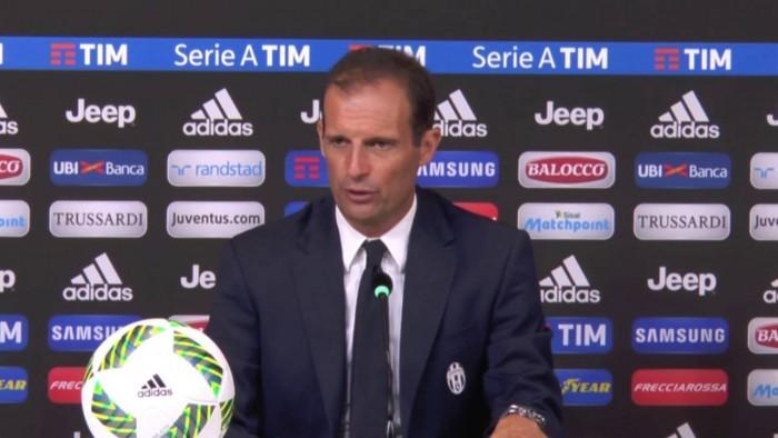 """Juve, Allegri in conferenza stampa: """"Marchisio da gestire, oggi valuto l'undici. Kean? Bravetto..."""""""