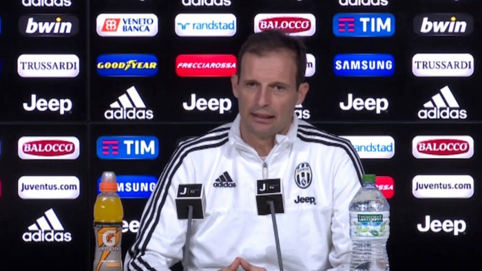 "Juve, Allegri verso l'Inter: ""Obiettivi chiari in testa. Felice per Hernanes"""