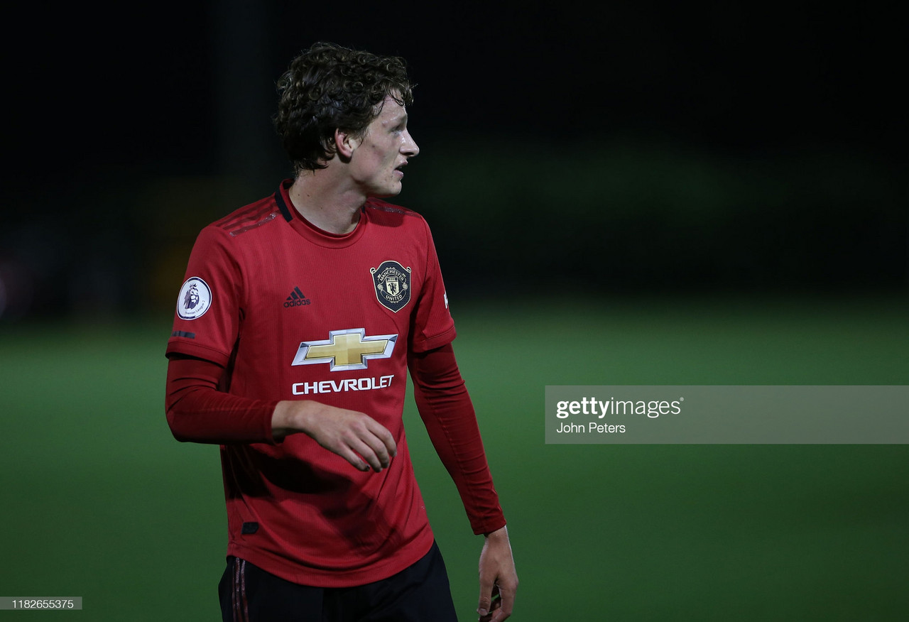 For Max Taylor, departing Manchester United will only be a bump in the road in his professional career