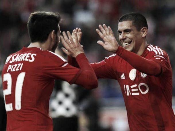 Benfica bate Boavista antes da visita a Alvalade