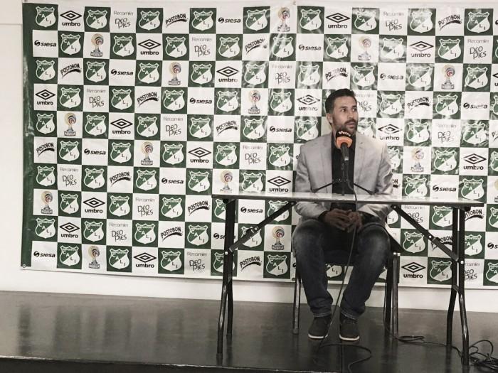 """Mario Yepes: """"Deportivo Cali fue merecedor del triunfo ante Tolima"""""""