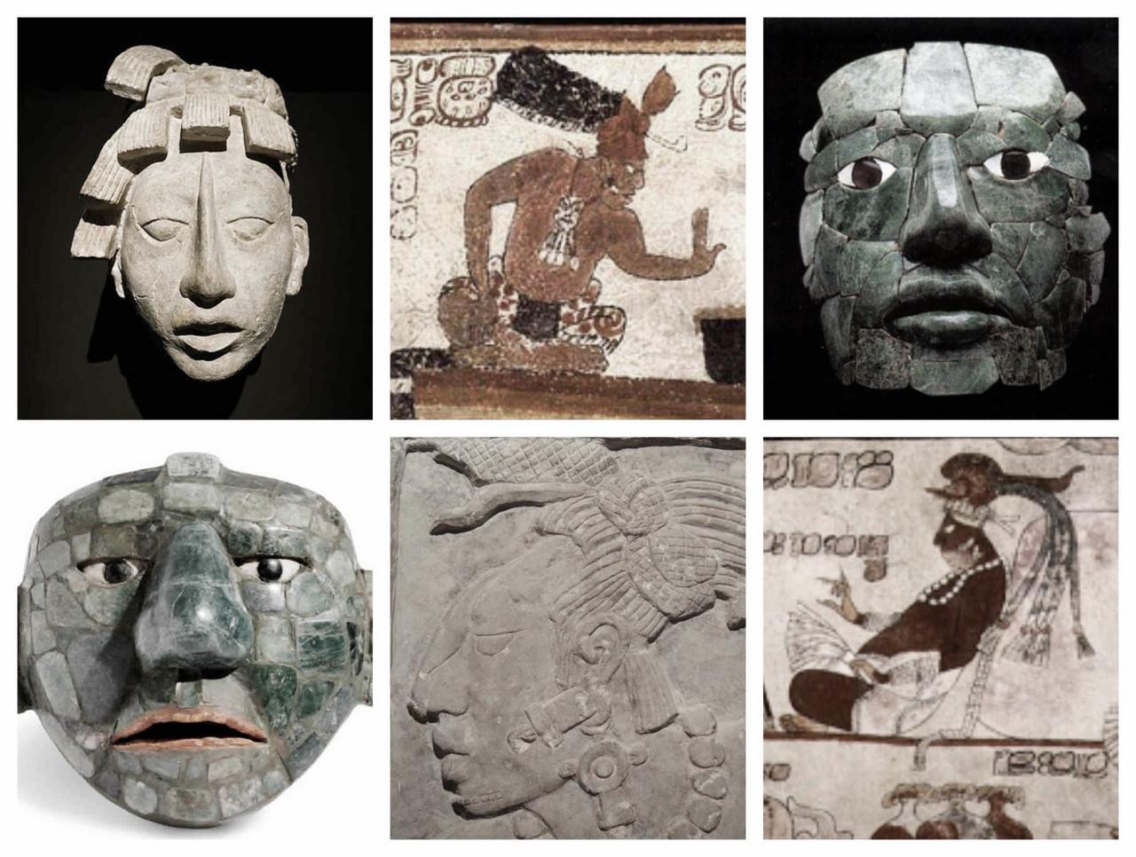 ¿Cómo eran físicamente los mayas?