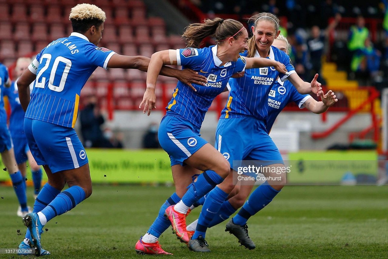 Brighton & Hove Albion Women 3 - 1 Bristol City: Bristol City relegated from the Super League by excellent Brighton