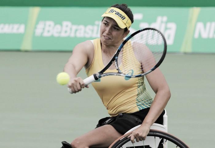 Tênis em Cadeira de Rodas: Natália Mayara arrasa na estreia e avança; Ymanitu e Candida são eliminados