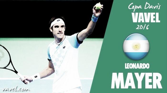 Copa Davis 2016. Leonardo Mayer: presión máxima