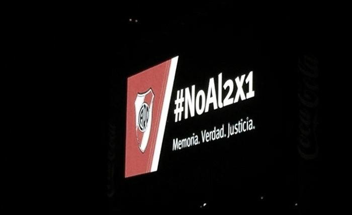River se sumó al #NoAl2X1