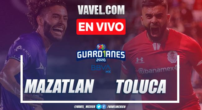 Goles y resumen del Mazatlán 2-1 Toluca en Liga MX 2020