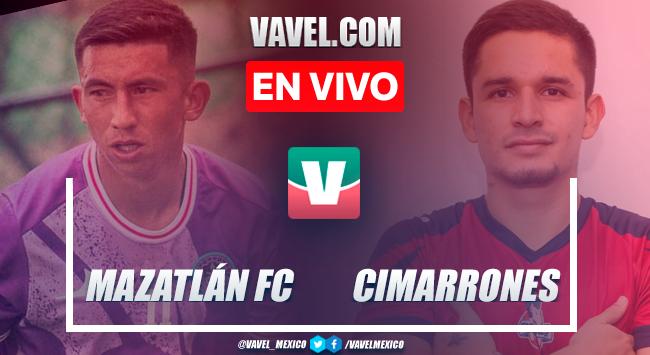 Resumen y goles: Mazatlán FC 4-1 Cimarrones de Sonora en partido de pretemporada rumbo al Apertura 2021