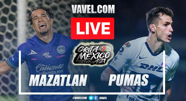 Goals and Highlights: Mazatlan 2-2 Pumas in Liga MX