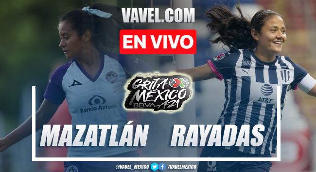 Goles y Resumen del Mazatlán 0-3 Rayadas en la Liga MX Femenil