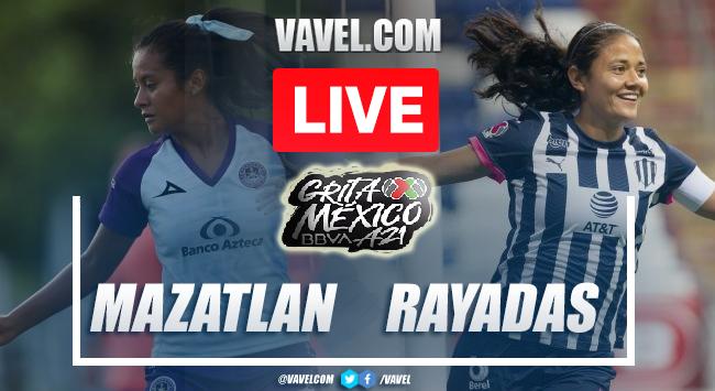 Goals and Highlights of Mazatlan 0-3 Rayadas on Liga MX Apertura 2021