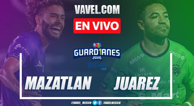 Goles y resumen: Mazatlán 3-2 FC Juárez en Guardianes 2020