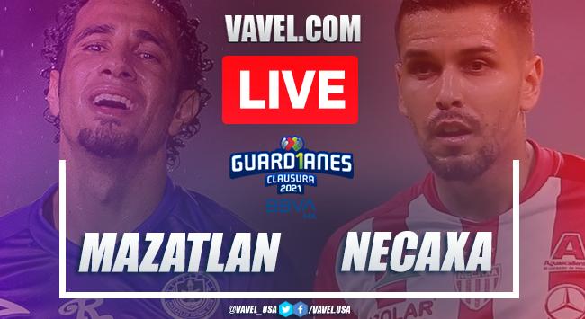 Goles y resumen del Mazatlán FC 3-2 Necaxa en Liga MX Guard1anes 2021
