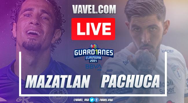 Goals and Highlights of Mazatlan 1-0 Pachuca on Liga MX 2021
