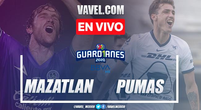 Mazatlán FC 0-0 Pumas: resumen del partido Liga MX 2020