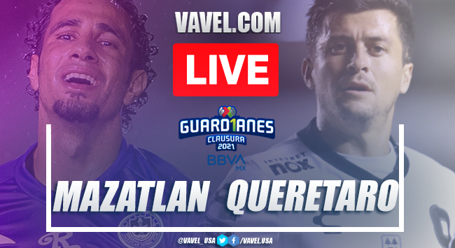 Goals and Highlights of Mazatlan FC 3-0 Queretaro on Guard1anes 2021 matchday 8