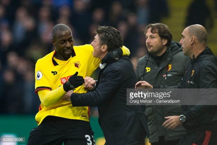 "Watford will be facing a ""very angry"" Manchester city says Walter Mazzarri"