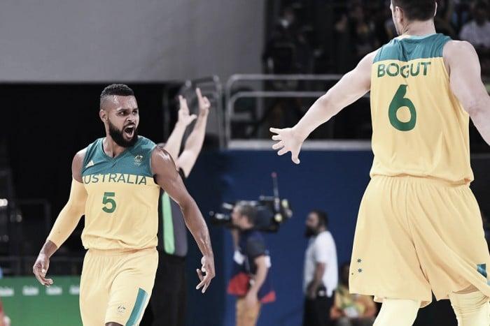 Rio 2016, basket maschile: l'Australia affonda la Lituania ed è in semifinale (90-64)