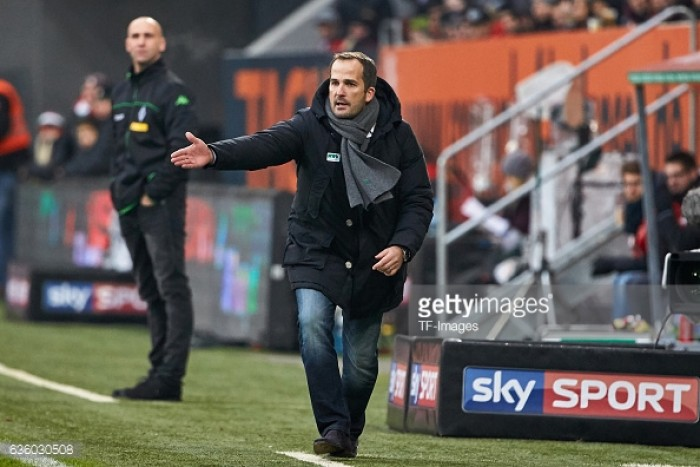 baum given augsburg job until end of season. Black Bedroom Furniture Sets. Home Design Ideas