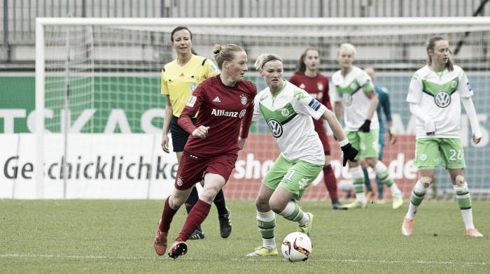 VfL Wolfsburg Frauen 1-1 Bayern Munich Frauen: Wolves saved by Wullaert's last-gasp goal