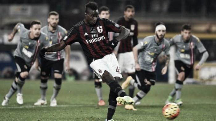 Semifinale di Coppa Italia: Balotelli può conquistarsi il Milan