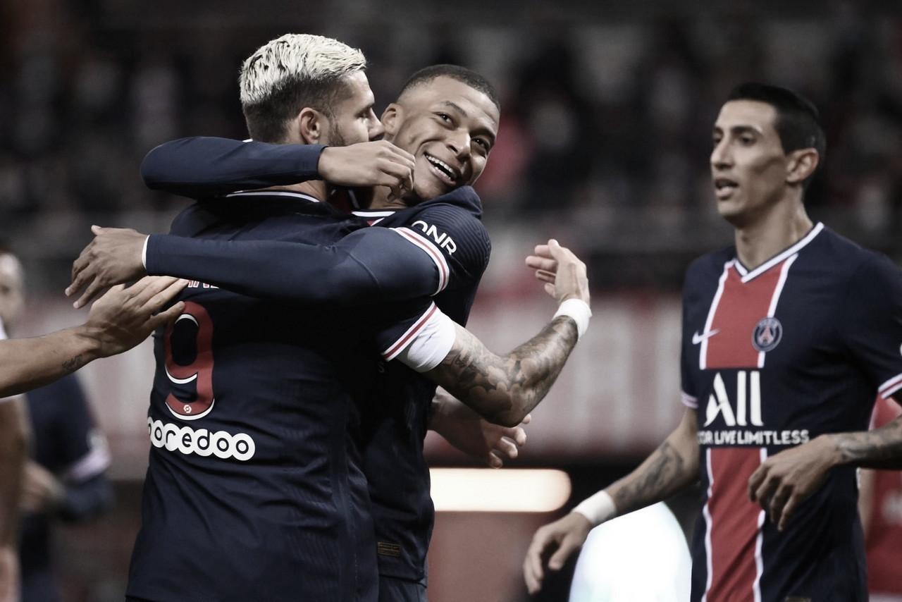 Paris Saint-Germain tem atuação dominante, goleia Dijon e assume liderança da Ligue 1