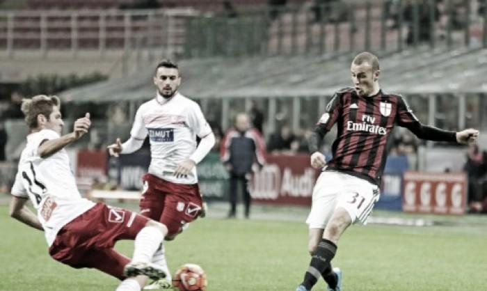Risultato finale: Milan - Carpiin Serie A 2016 (0-0): Donnarumma salva il risultato, primo pareggio per Brocchi