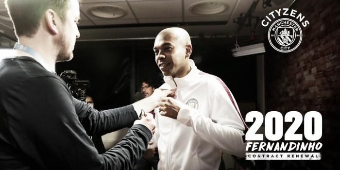Fernandinho renueva con el City hasta 2020