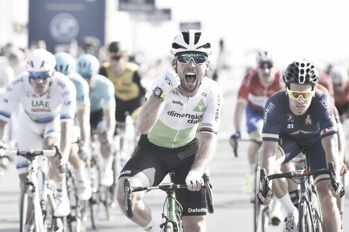 Dubai Tour, Colbrelli vince in cima alla diga