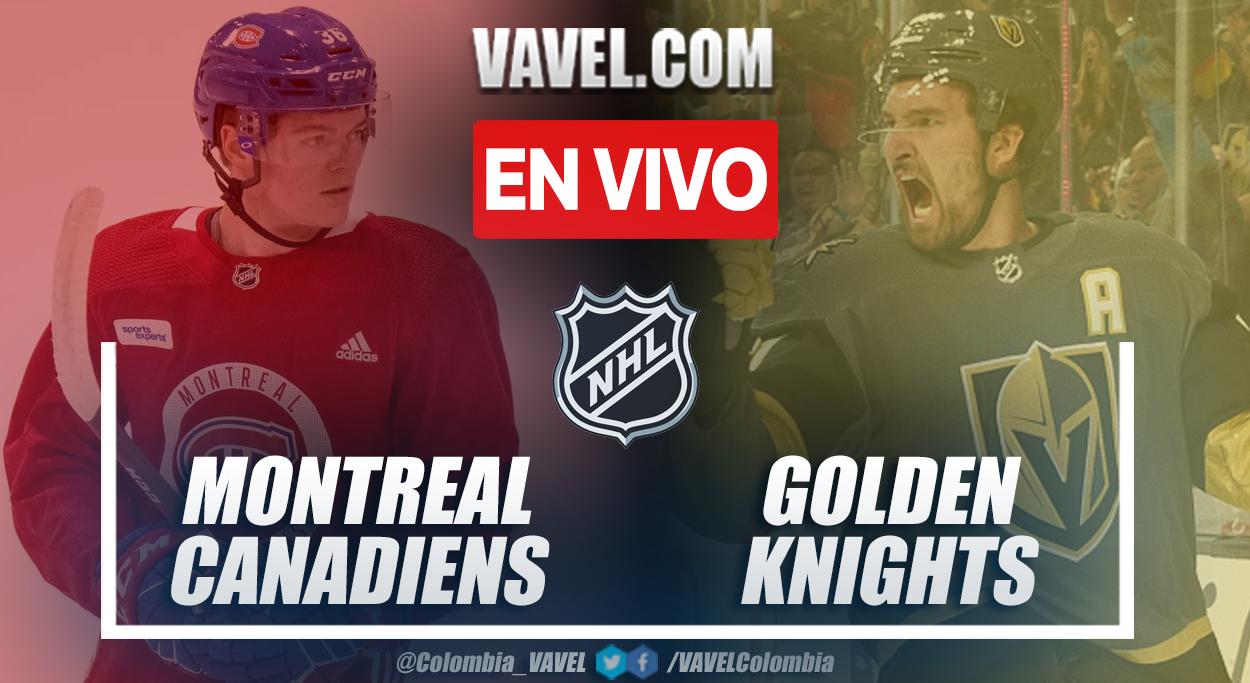 Resumen y goles: Montreal Canadiens 3-2 Vegas Golden Knights en semifinales de la NHL 2021