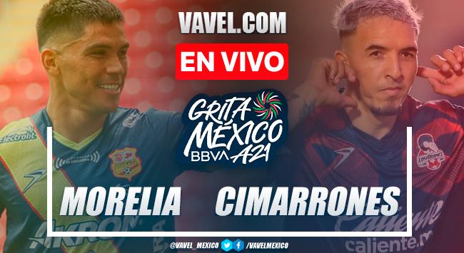 Resumen y goles: Atlético Morelia 2-2 Cimarrones de Sonora en Liga Expansión MX 2021