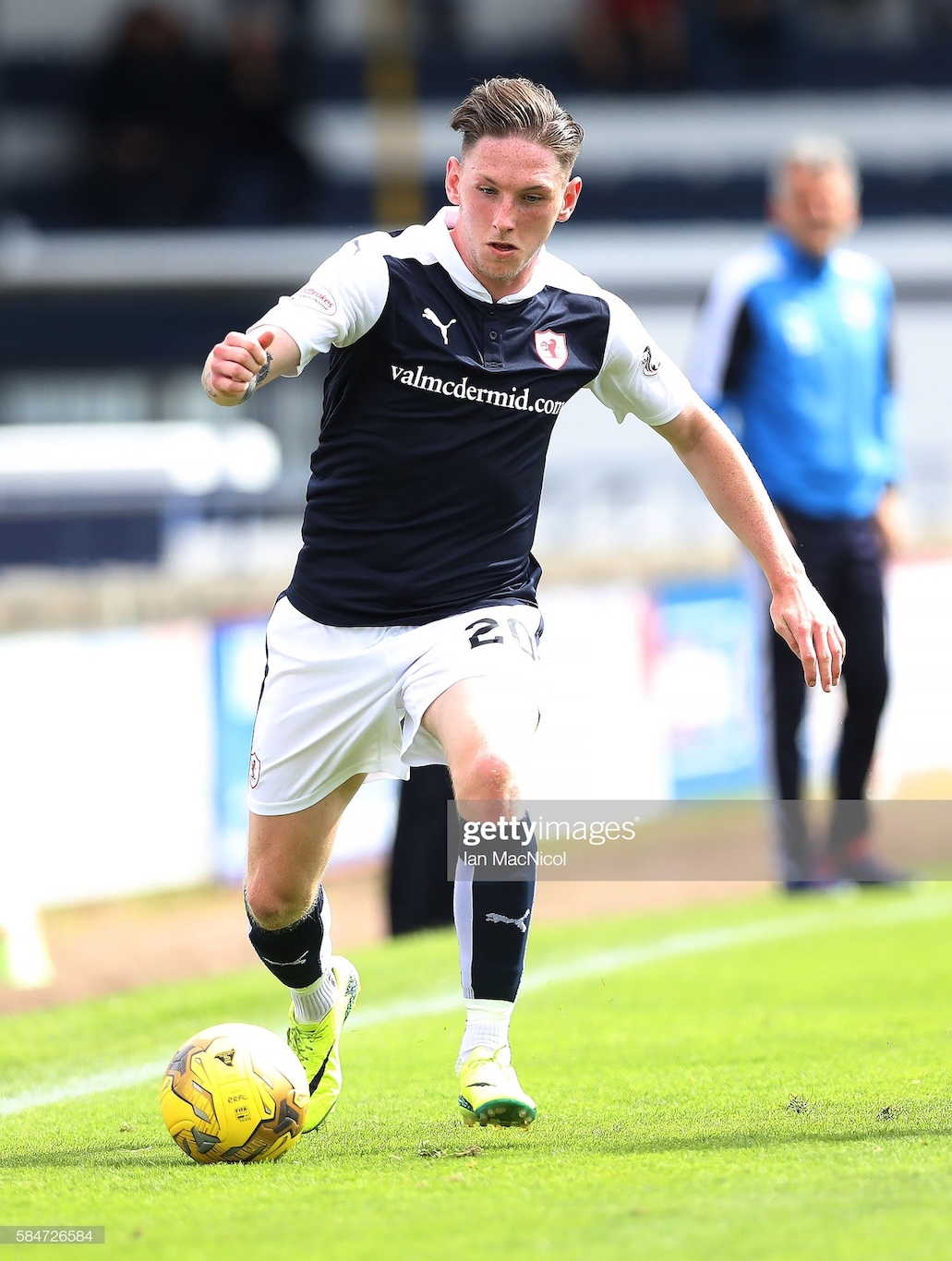 Striker Declan McManus joins Falkirk on loan