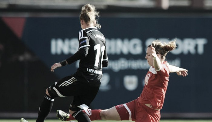 Fan favourite Grace McCatty extends her contract with Bristol City Women