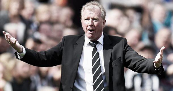 Steve McClaren admits training got 'feisty' ahead of Crystal Palace