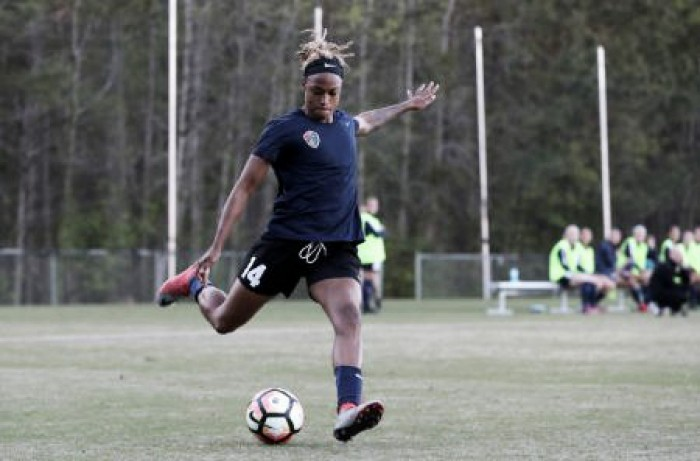 Jessica McDonald breaks the NWSL all-time scoring record