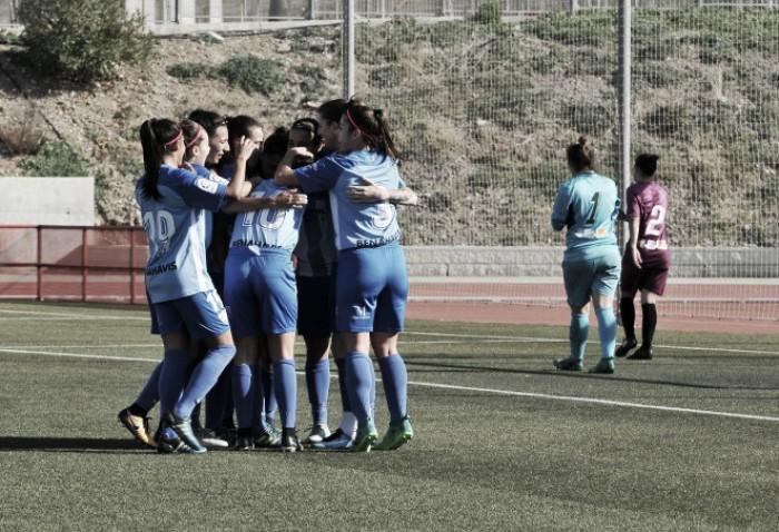 El Málaga Femenino acaba el año como líder