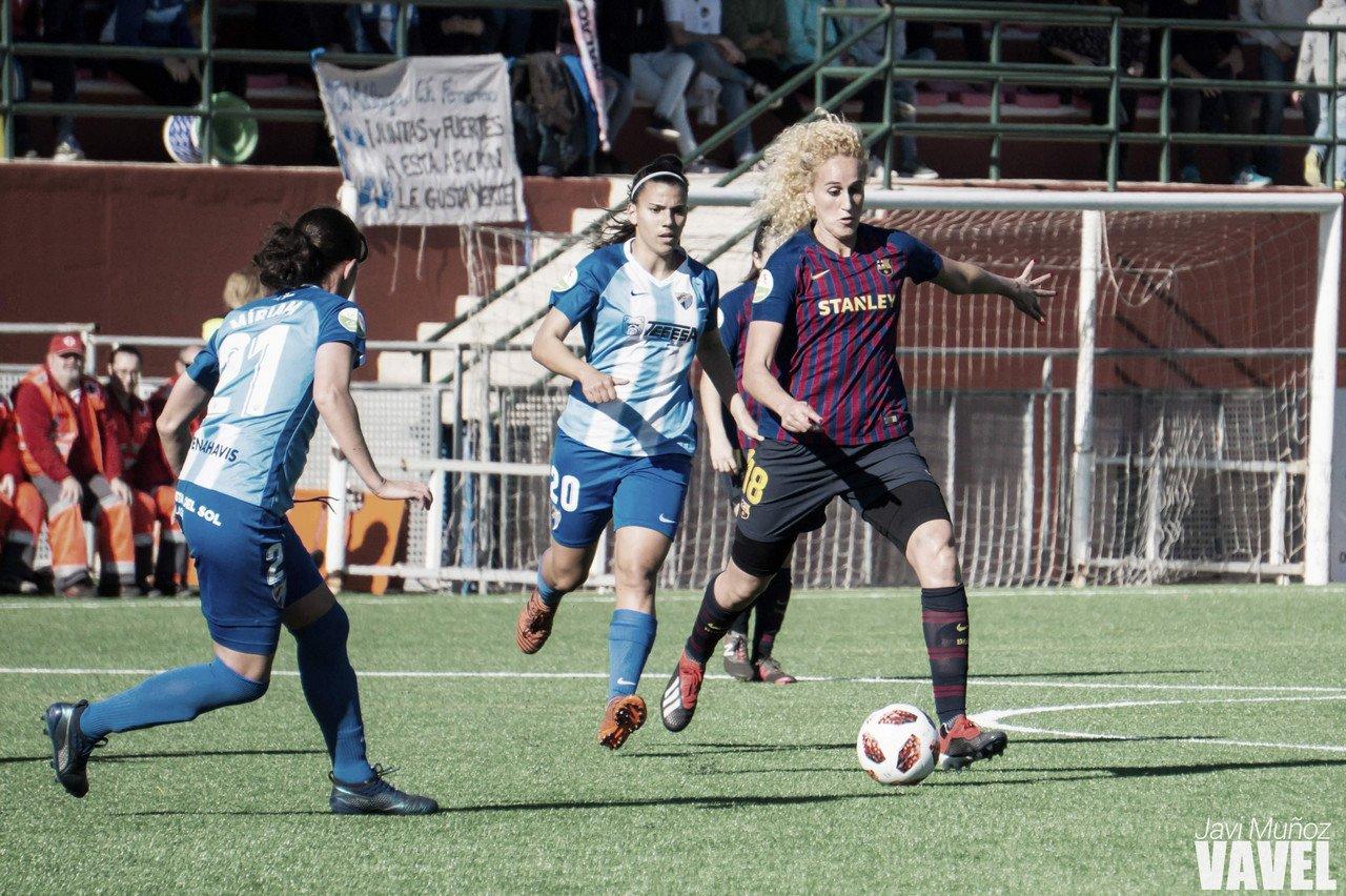 El Málaga no puede con el Barcelona