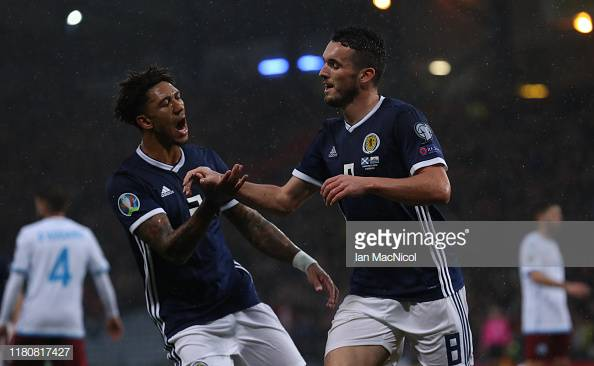 Scotland 6-0 San Marino: McGinn leads the rout