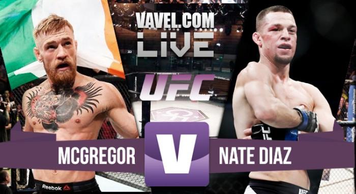 Resultado McGregor - Diaz en el UFC 196