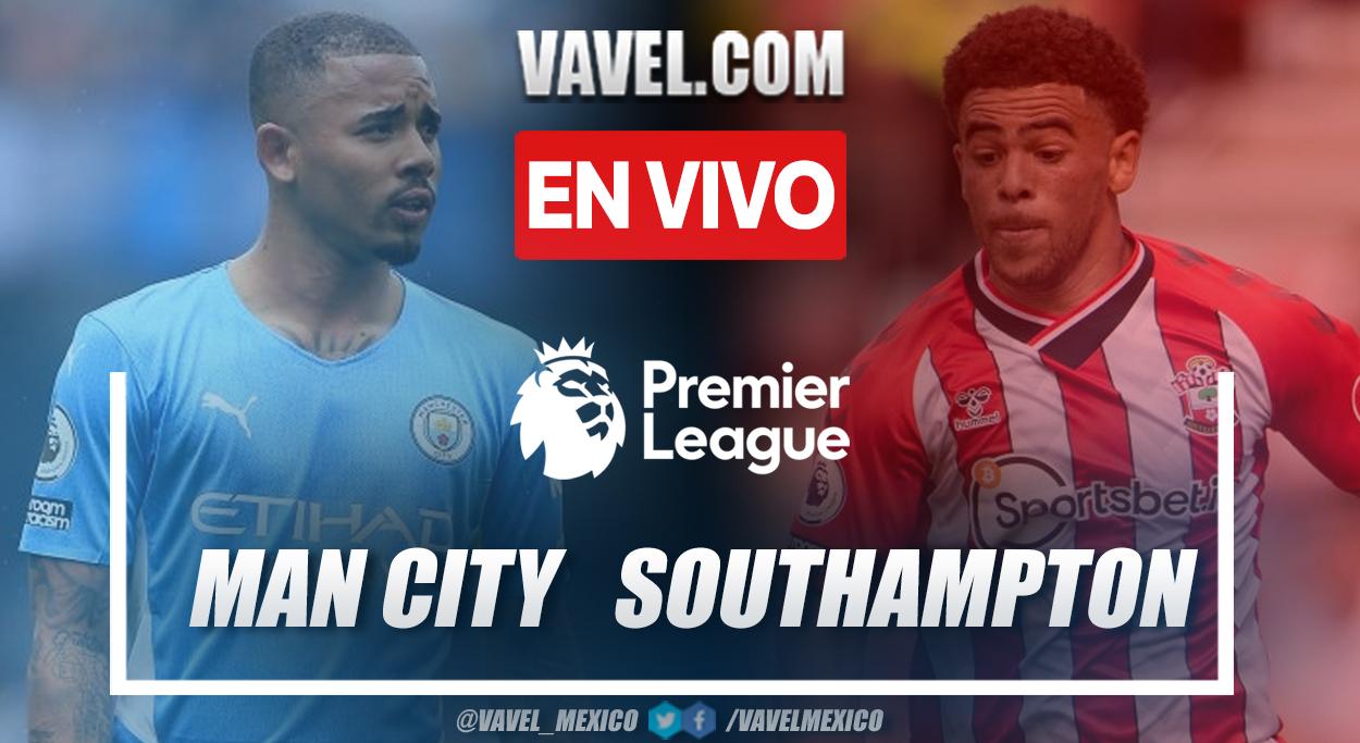 Resumen: Manchester City 0-0 Southampton en Premier League 2021-22