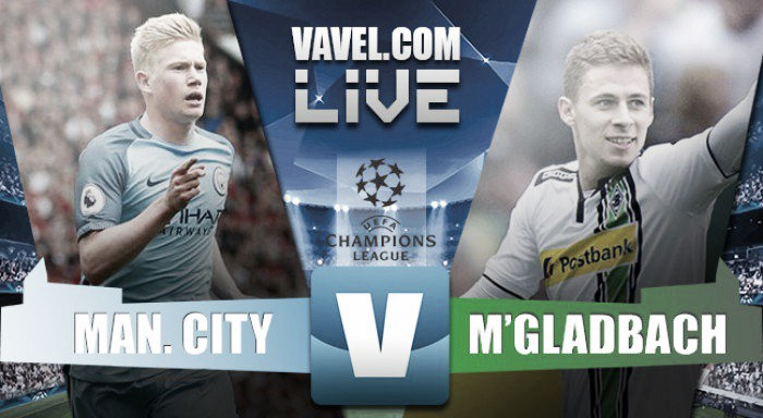 Manchester City hammer Borussia Monchengladbach by four goals