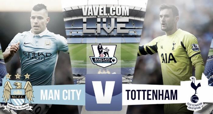 Manchester City vs Tottenham Hotspur Live Stream Score Commentary in Premier League 2016 (0-0)