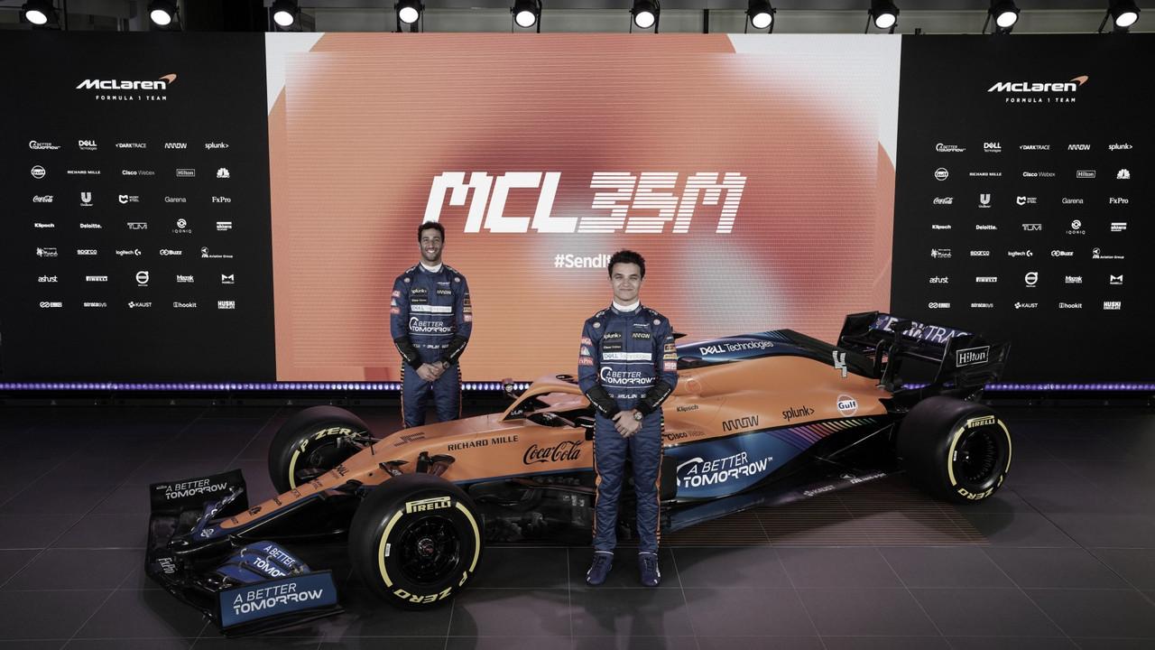 McLaren presenta el MCL35M, su monoplaza para 2021