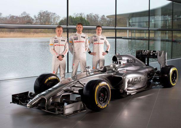 McLaren révèle sa MP4-29