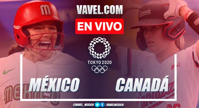 México cae 2-3 ante Canadá y queda en cuarto lugar en Sóftbol de Juegos Olímpicos Tokio 2020