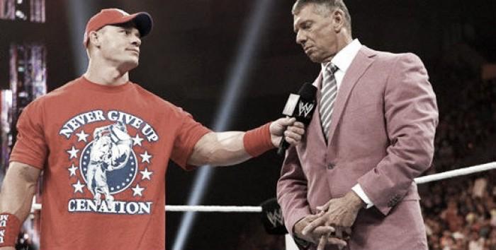 Vince McMahon Speaks About John Cena