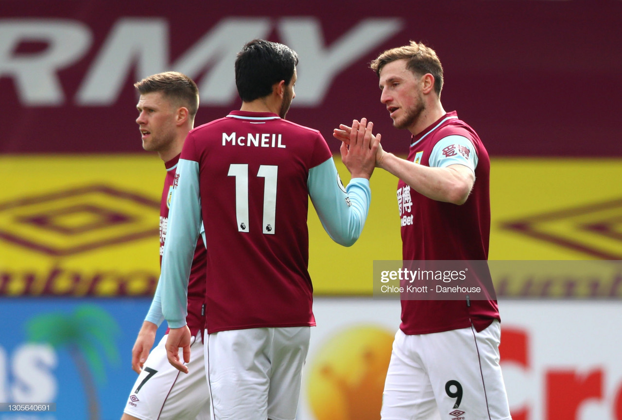The Warmdown: Burnley hold on for a point despite an eventful second half