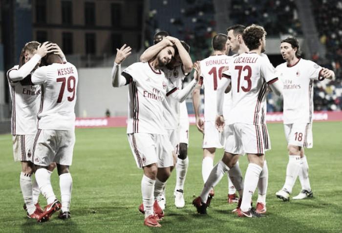 Milan tem atuação segura, bate Sassuolo e se recupera na Serie A