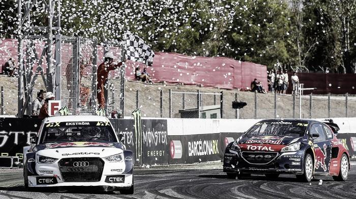 Mattias Ekström conquista quarta vitória no Mundial de Rallycross em Barcelona